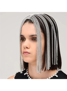 Adult Women's European Style Rhinestone Barrette Hair Accessories For Party/Prom