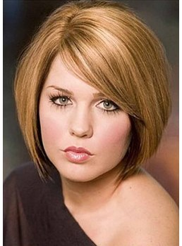 Short Shaggy Hairstyle Women's Natural Straight Synthetic Hair Capless Wigs 12Inch