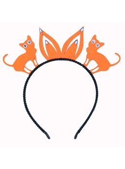 European Halloween Style Women's Cute Animal Pattern Cloth Hairband For Prom/Party/Gift