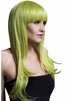 Women's Halloween Cosplay Long Bob HairStyle Straight Synthetic Hair Capless Wigs 22Inch