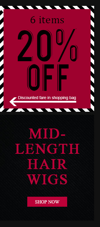 Mid-Length African American Wigs