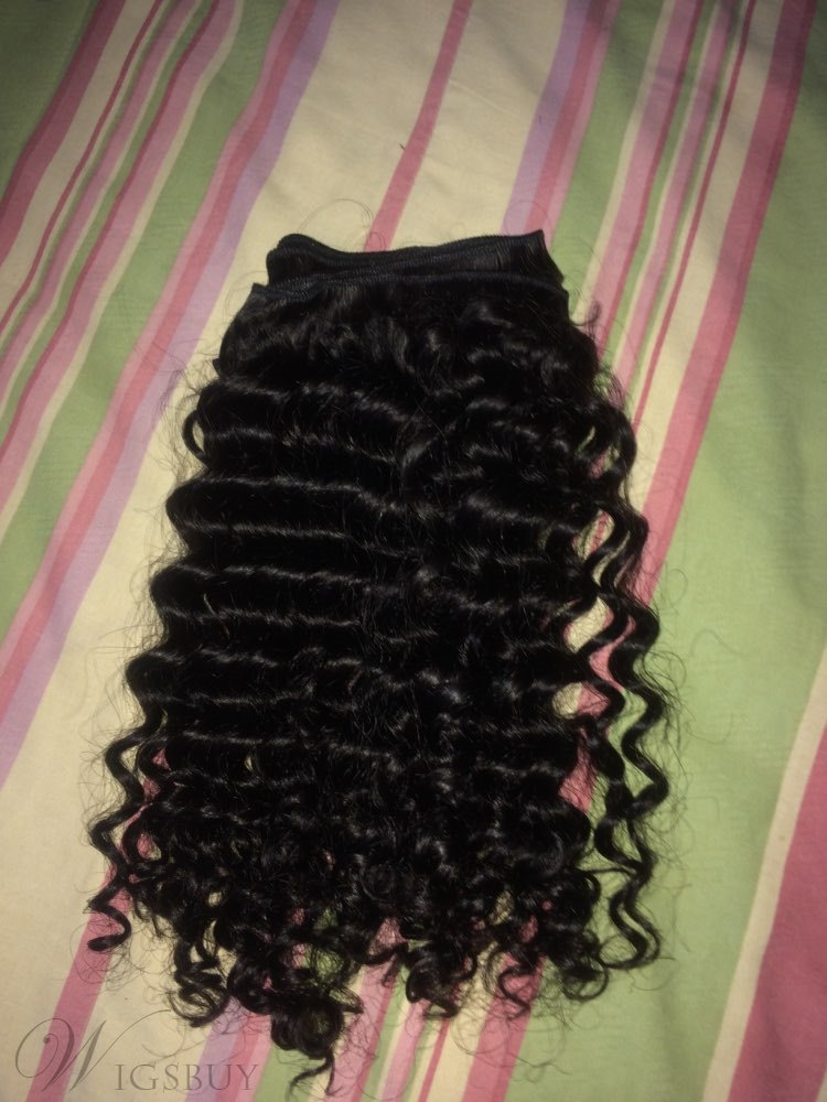 Wigbuy Hair Extensions Brazilian Virgin Human Curly Hair 8-30 Inches