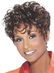 Top Quality Natural African American Hairstyle Short Curly