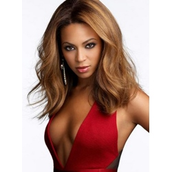 Beyonce Knowles Custom Super Sexy Hot Sale 14 Inches Medium Best Quality Hand Crafted Popular Full Lace Wig 100% Human Hair