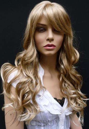 Best Selling Glamorous Long Wavy Synthetic Wig 24 Inches