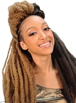 Hot Sale Braid Hair for African American Women Men # 2 #4 #27 # 30