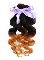 1b/4/27 3 Tone Ombre Human Hair Weave 1 PC