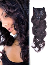 7 Piece Body Wave Clip In Indian Human Hair Extension