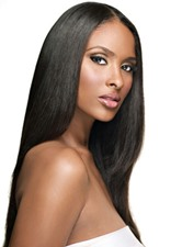 12 Inches Kinky Straight Indian Virgin Hair Wefts
