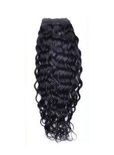 Curly 7PCS Clip in Hair Extensions 100% Human Hair 100g