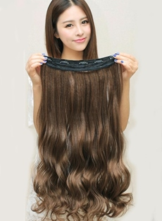 Charming Wavy Human Hair Weave/Weft 1 PC