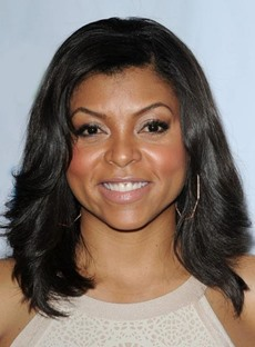 Taraji P Henson Sexy High Quality Natural Medium Wavy Lace Front Wig 100% Real Human Hair 12 Inches