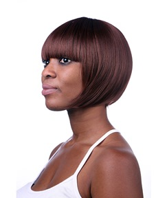 COSCOSS® Cute Short Straight Capless Synthetic Hair Wig 10 Inches