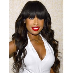 Fascinating Sweet Polished Long Wave Synthetic Hair Wig 24 Inches