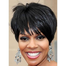 Custom Beautiful and Super Hot Heat Resistant Synthetic Wig Short Hairstyle Top Quality 8 Inches