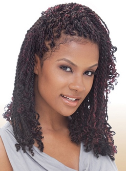 Natural Black Marley Twist Braid for Black Women