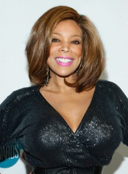 Wendy Williams Attractive Wendy Williams Hairstyle Lace Wig 100% Human Hair 12 Inches