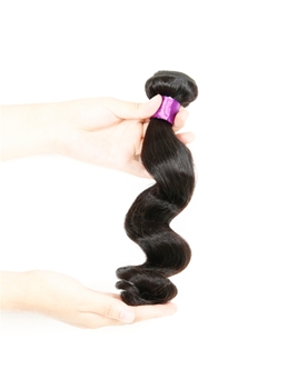 Human Hair Weave Brazilian Human Hair Loose Wave Human Hair Extension 1pc for Black Women