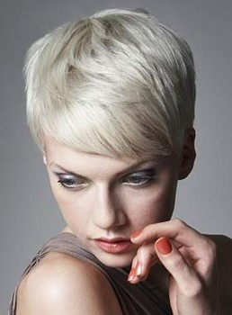 Newest Fashion Chic Short Hairstyle 4 Inches Straight Synthetic Wig