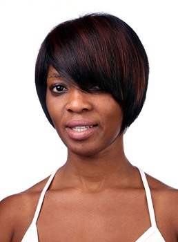 COSCOSS® Elegant Short Straight Synthetic Hair Capless Wig 10 Inches