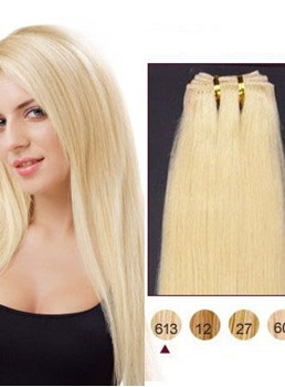Remy Human Hair Extensions Straight 7PCS Clip in Remy Human Hair Extensions