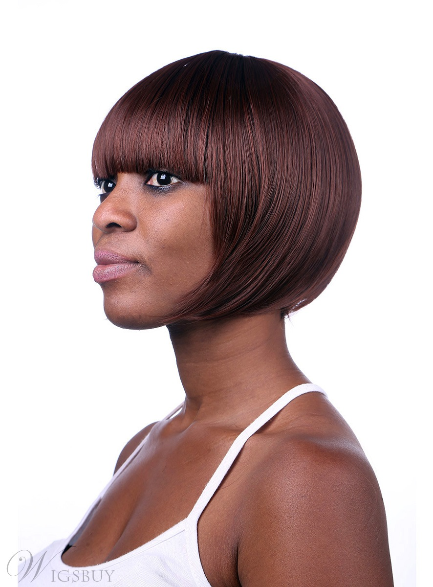 COSCOSS® Cute Short Straight Capless Synthetic Hair Wig 10 Inches 12173340