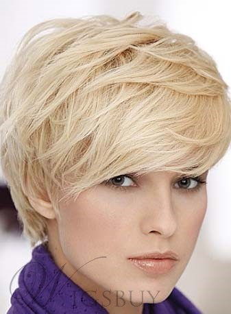 Hot Sale High Quality Hip Short Straight Wig Makes You More Cool 9763819