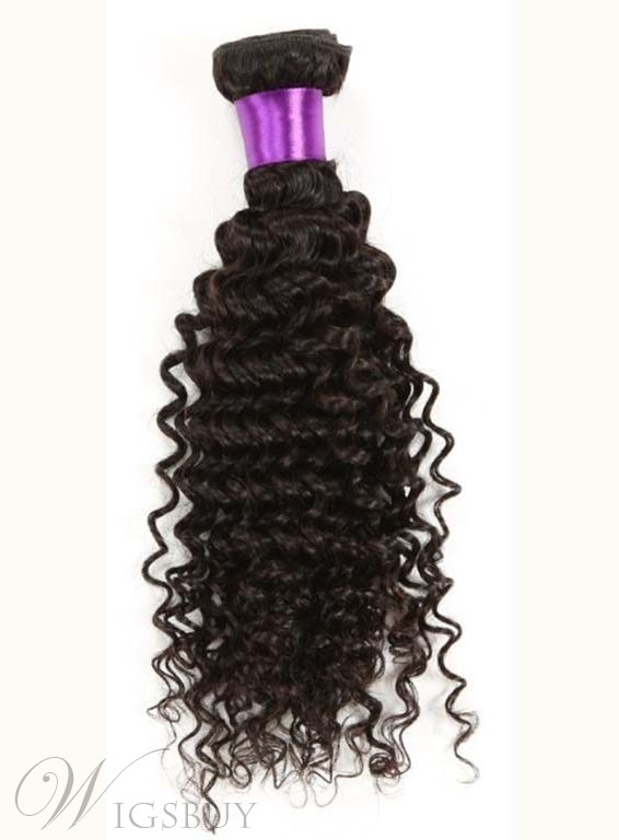 Cheveux Humains Curly armure Attrayant 100 %