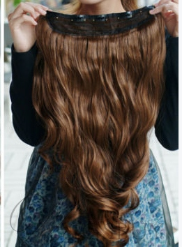 Long Wavy Human Hair Weave for Sexy Lady Free Shipping Dark Brown