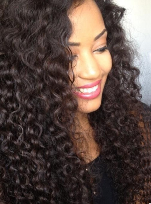 Top Quality Deep Wave Human Hair Weave 1 PC