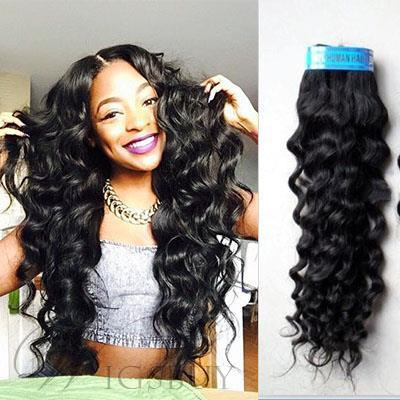 Human hair weave african american deep wave india human hair 48 human hair weave african american deep wave india human hair extensions 1pc pmusecretfo Gallery