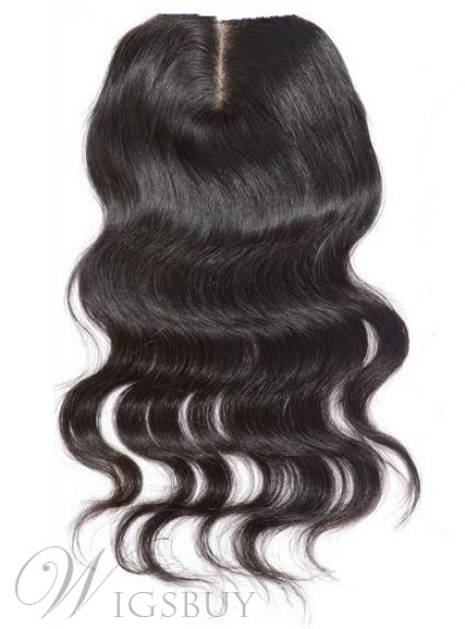 New Body Wave Unprocessed Human Hair Lace Closures
