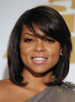 Taraji P Henson Kindly Gorgeous Top Quality Human Hair Capless Wig 12 Inches
