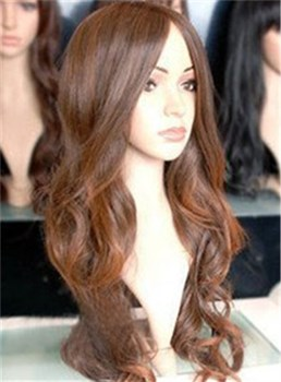 Popular Long Curly Capless 22 Inches Synthetic Hair Wig