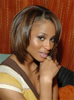 Beautiful Short Human Hair Lace Front Wigs 10 Inches