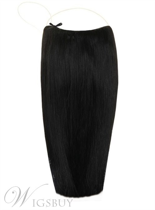#1 Smooth Straight 100% Human Hair Flip In Hair Extension