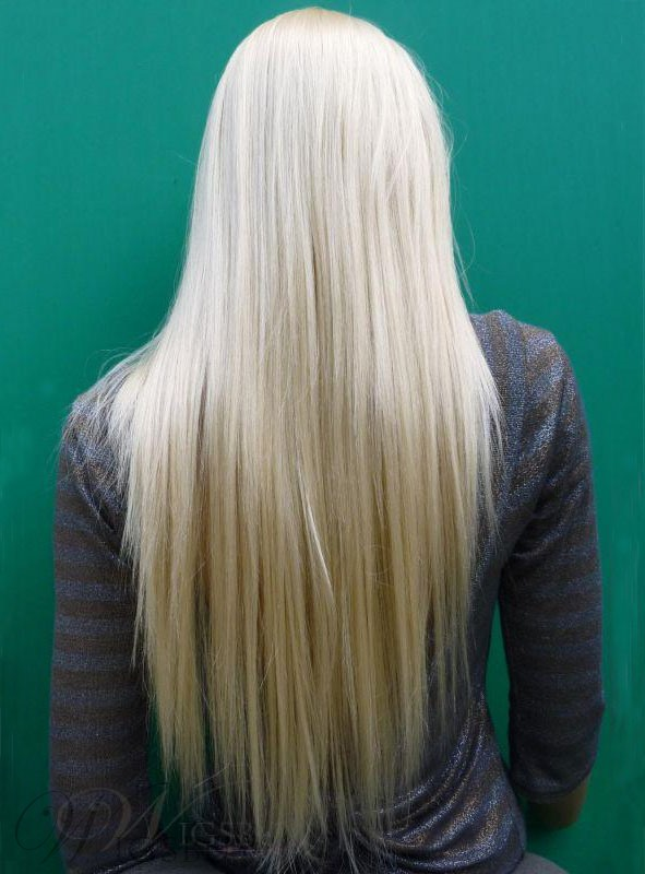 Hot Sale Long Silky Straight Blonde Real 100 Virgin