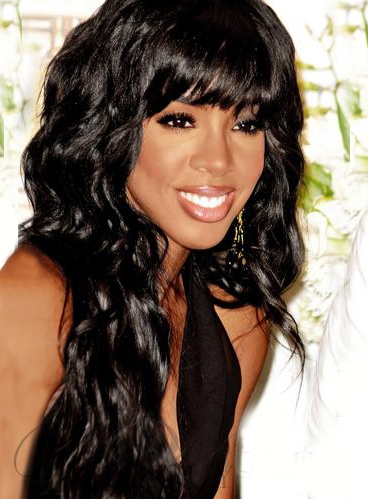 New Arrival Custom Kelly Rowland Hairstyle Long Wavy Wig 22 Inches