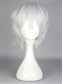 New Arrival Short Straight Silver Cosplay Wig