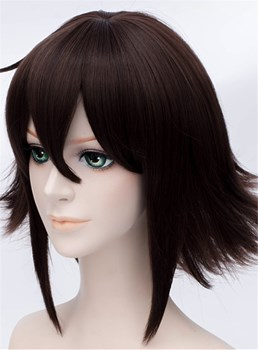 DuRaRaRa Cosplay Brown Short Wig 12 Inches