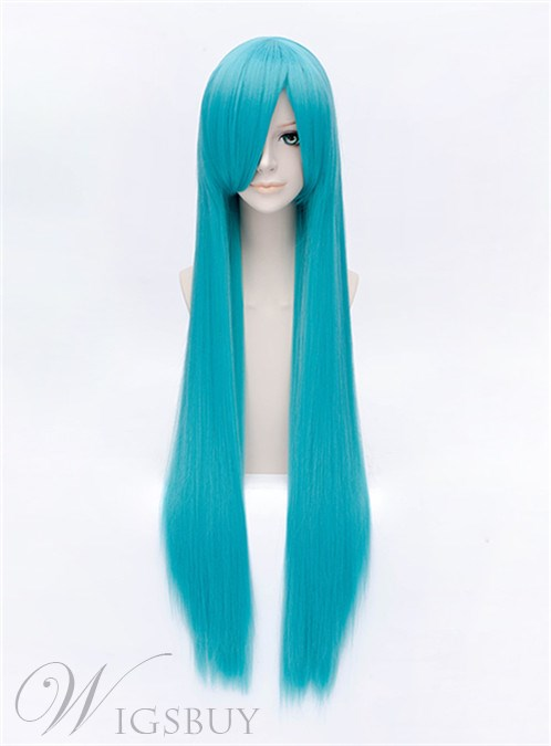 Hatsune Miku Long Blue 40 Inches Wig