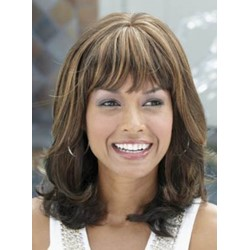 Charming Celebrity Hairstyle Long Straight 14 Inches Strawberry Blonde Perfect Wig