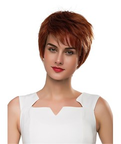 Mishair® Short Straight Boy Human Hair Capless Wig 10 Inches