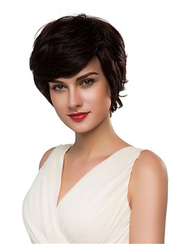 Mishair® Short Curly Hair Human Capless Wig 10 Inches
