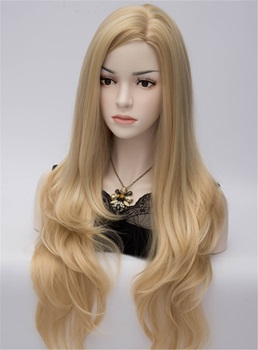 Adriana Long Full Natural Heat-Resistant Hair Blonde Wig 28 Inches