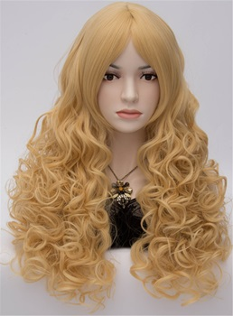 Sexy Fashionable Mid-Length Curly Cosplay Party Wig 20 Inches
