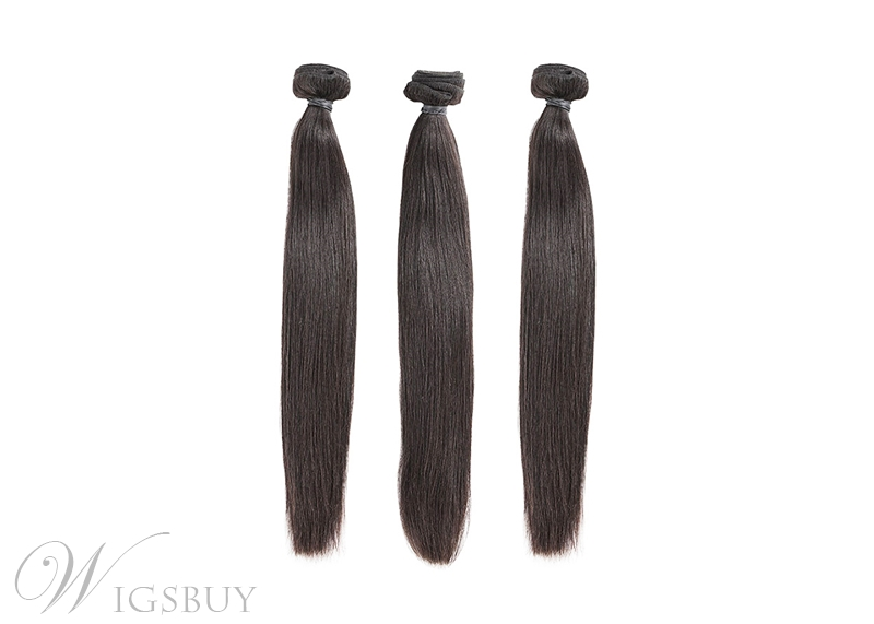 Natural Straight Human Hair Bundles 3PCS Lot 8-30 Inch Remy Hair Extension