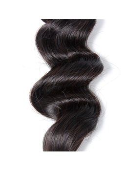 Wigsbuy Brazilian Virgin Human Hair Loose Wave Bundle 8-30 Inches