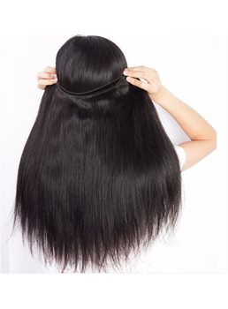 Wigsbuy 4 Bundles Brazilian Natural Straight Virgin Human Hair