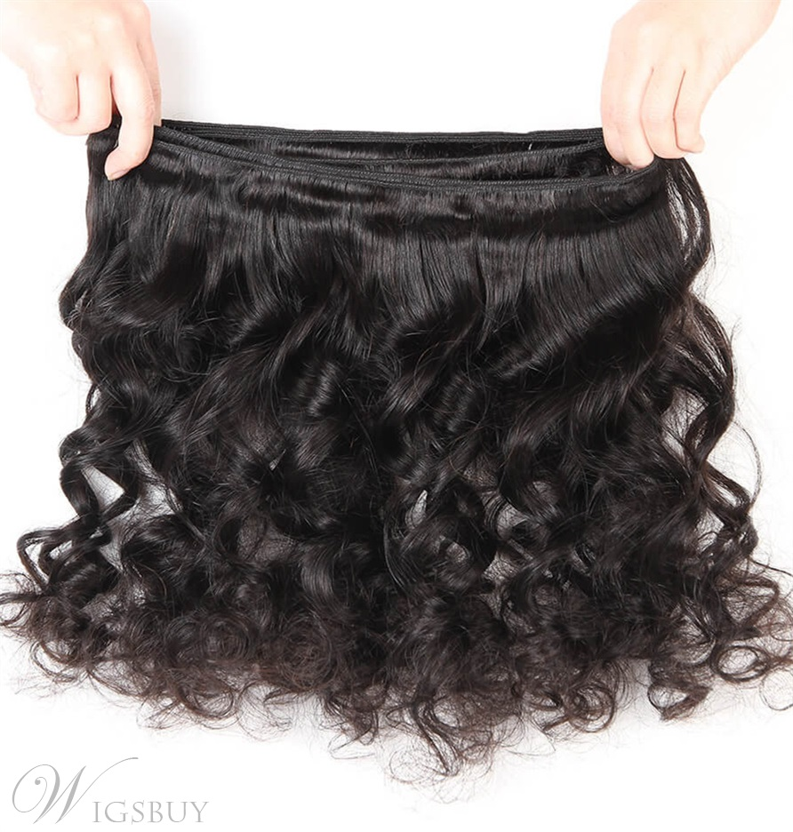 Wigsbuy Brazilian Loose Wave Virgin Hair 4 Bundles/Pack